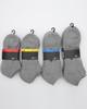 IISER No Show Cushioned Socks 3 Pack