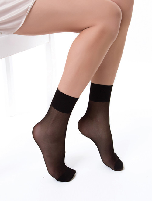 Shine Step Anklet Tights - 2 Pack