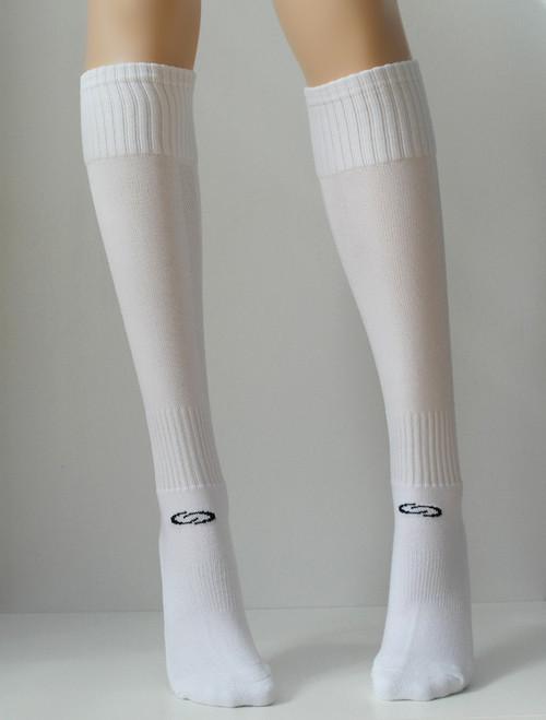 Supremacy White Knee High Socks - Socks & Underwear TESS