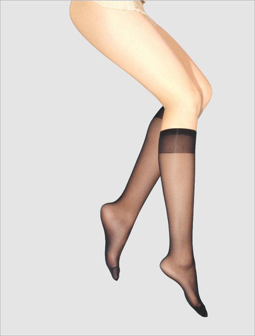 WIDE BAND 2 PACK KNEE HIGHS