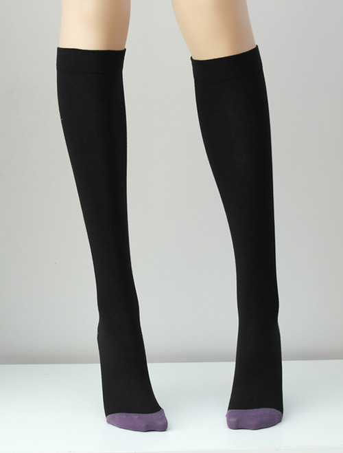 Black Knee Socks - Socks & Underwear TESS