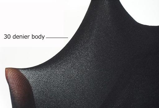 30 denier body pantyhose
