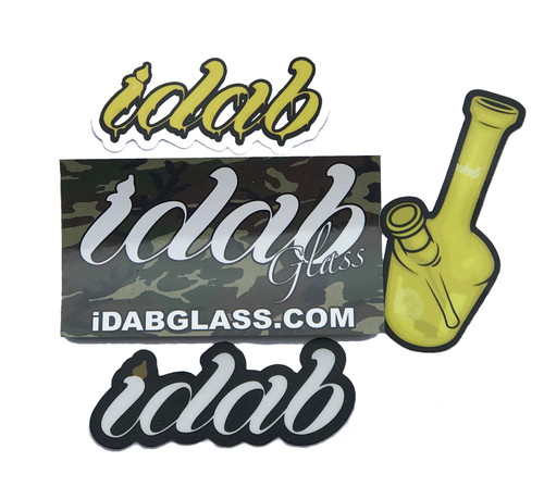 iDab Glass sticker pack