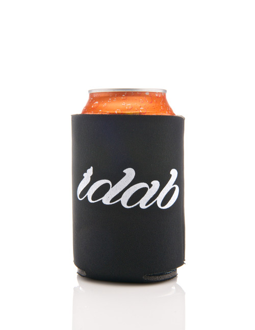 Iconic Black iDab Glass Koozie Beverage Cooler