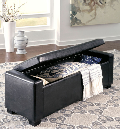 The Benches Black Upholstered Storage Bench Available At Affordable