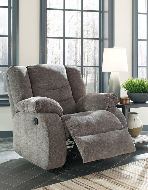 The Tulen Gray Reclining Sofa Loveseat Rocker Recliner Available