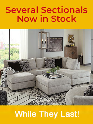 Sectionals In Stock