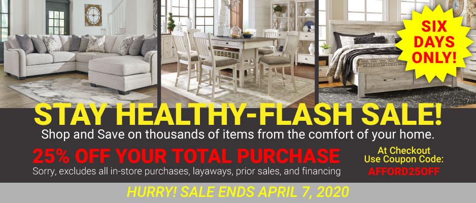 Stay Healthy-Flash Sale