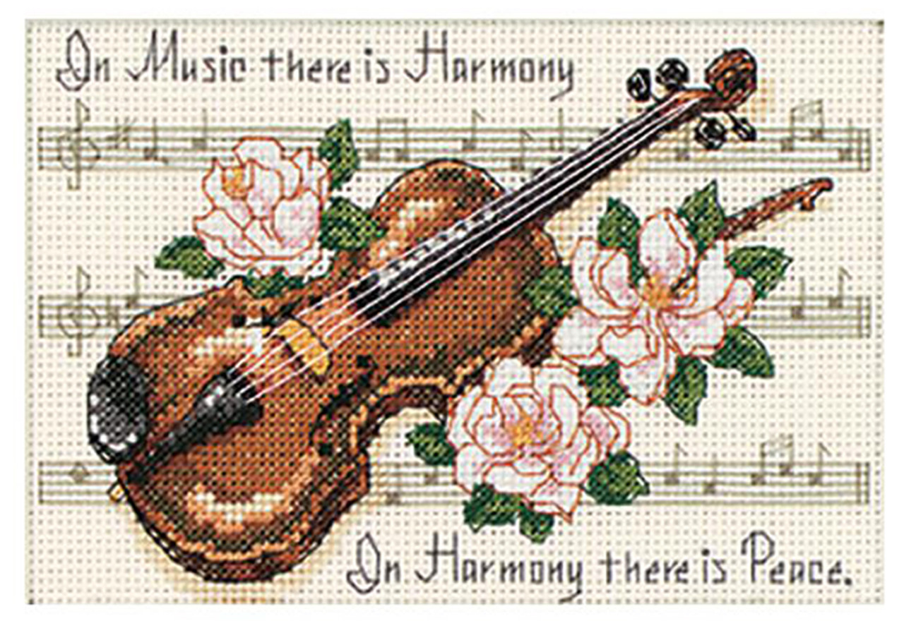 "Mini Cross Stitch Dimensions Group Therapy Counted Cross Stitch Kit 5/"" x 7/"""