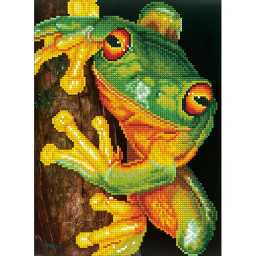 Diamond Dotz Facet Art Kit - Green Tree Frog