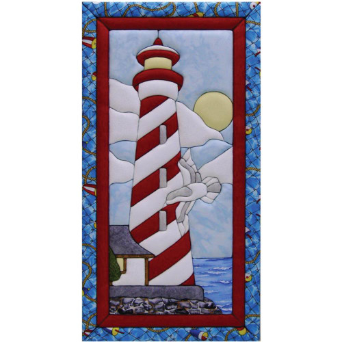 Quilt-Magic No Sew Wall Hanging Kit - Lighthouse