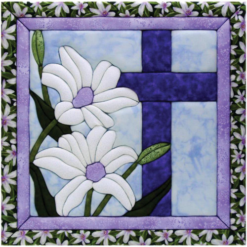 Quilt-Magic No Sew Wall Hanging Kit - Cross