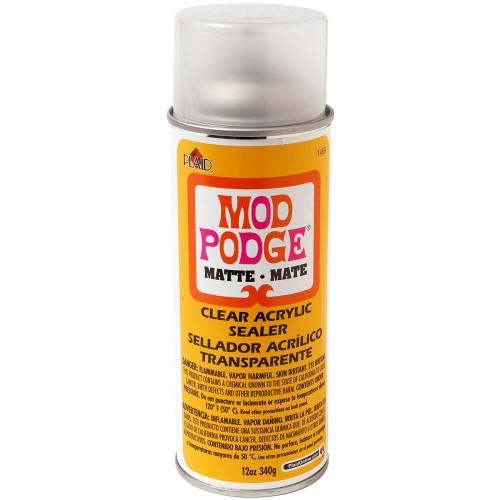 Mod Podge Clear Acrylic Aerosol Sealer - 12oz Matte