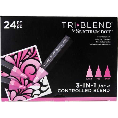 Spectrum Noir Tri-Blend Markers 24/Pkg