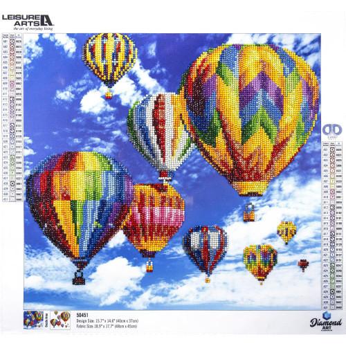 Diamond Art Advanced Kit - Balloons