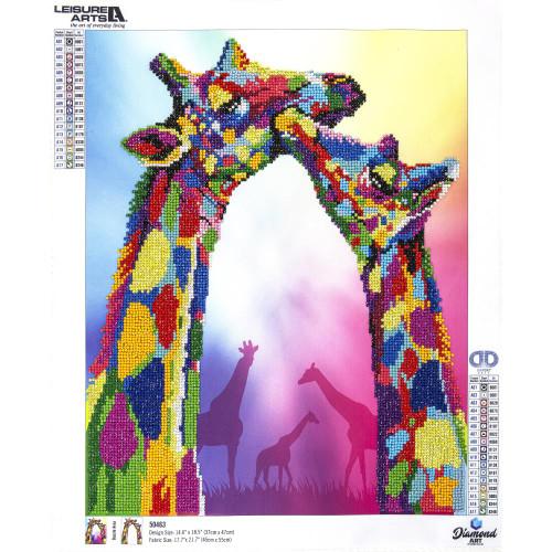 Diamond Art Advanced Kit - Giraffes