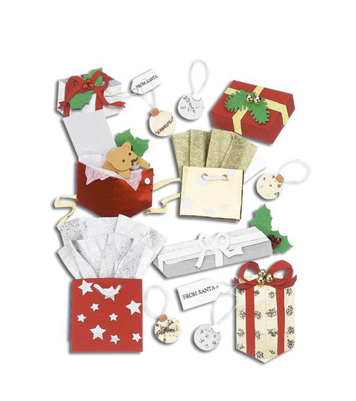 Jolee's Boutique Dimensional Stickers - Christmas Gifts