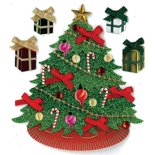 Jolee's Boutique Dimensional Stickers - Classic Tree