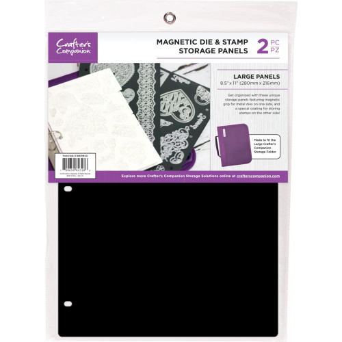 "Crafter's Companion 8.5""X11"" Magnetic Storage Panels 2/Pkg"