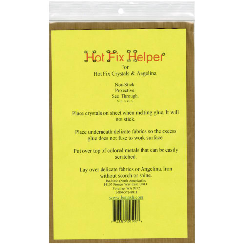 Bo-Nash Hot Fix Helper Fiberglass Ironing Sheet