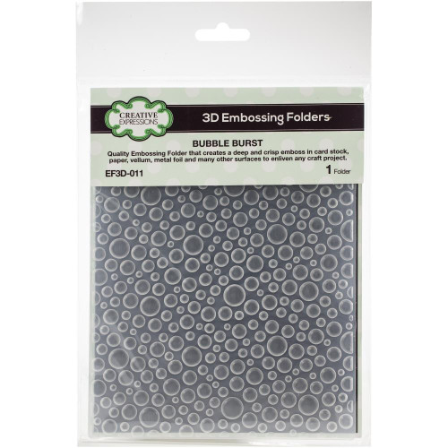 Creative Expressions Embossing Folder - Bubble Burst