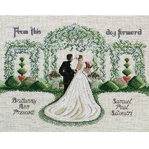 Janlynn Counted Cross Stitch Kit - From This Day Forward