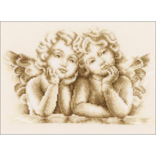 Vervaco Counted Cross Stitch Kit - Dreaming Angels