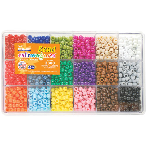 Bead Extravaganza Bead Box Kit - Crayon