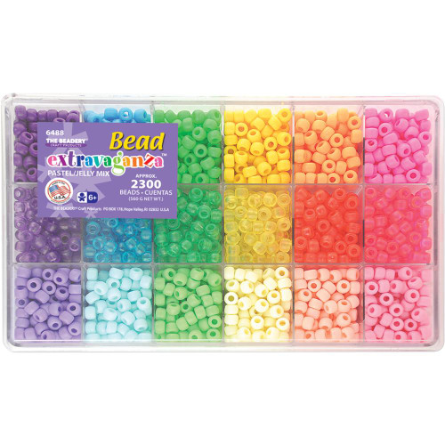 Bead Extravaganza Bead Box Kit - Pastel & Jelly