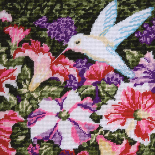 Design Works Needlepoint Kit - Hummingbird