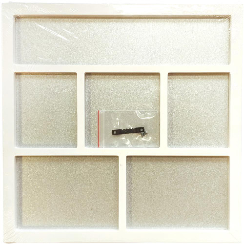 Foundations Decor Magnetic Shadow Box - White