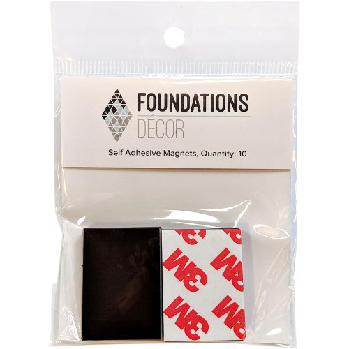 Foundations Decor Self-Adhesive Magnets 10/Pkg
