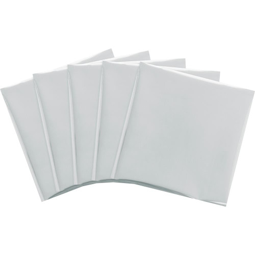 We R Memory Keepers Foil Quill Foil Sheets 15/Pkg - Silver Swan