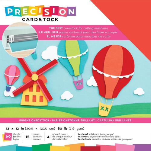 American Crafts Precision Cardstock - Bright/Textured