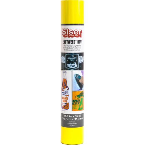 Siser EasyWeed HTV Vinyl Roll - Lemon