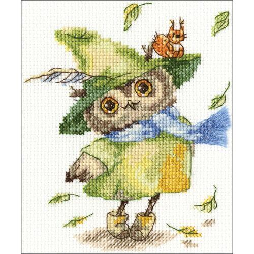 RTO Counted Cross Stitch Kit - Leaf Fall