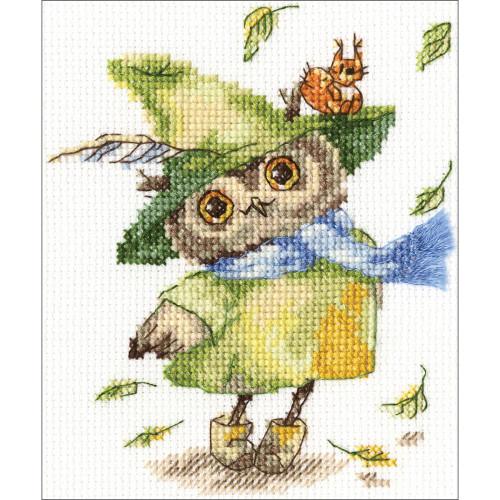 RTO Counted Cross Stitch Kit - Leaf Fall