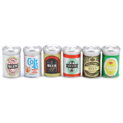 Timeless Miniatures - Assorted Beer Cans