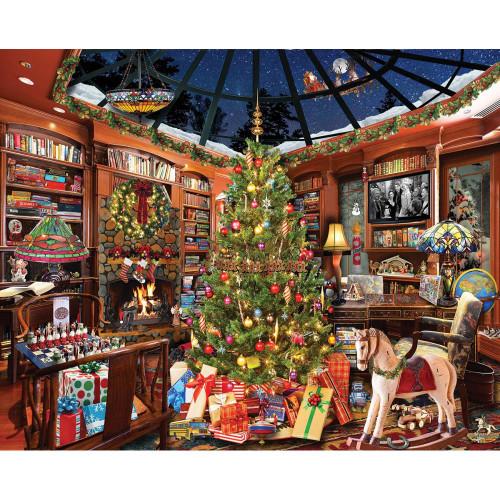 White Mountain 1000 Pc. Jigsaw Puzzle - Christmas Seek N Find