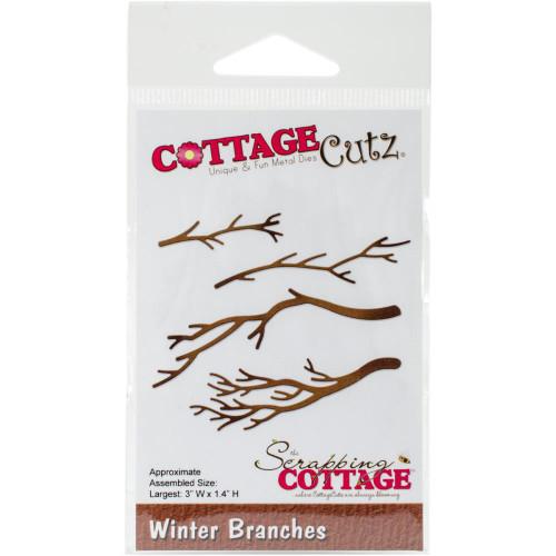 CottageCutz Die - Winter Branches