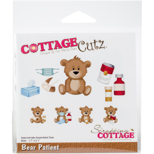 CottageCutz Die - Bear Patient