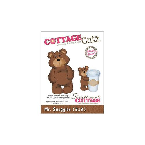 CottageCutz Die - Mr. Snuggles