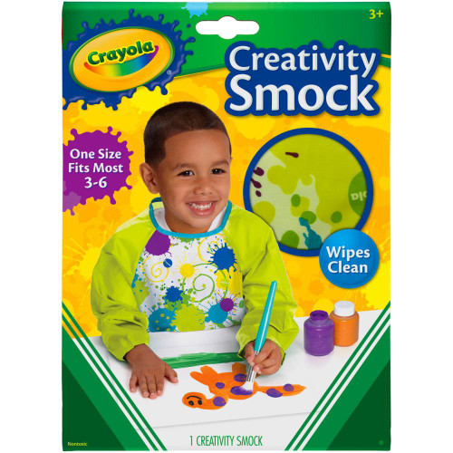 Crayola Creativity Smock W/Long Sleeves