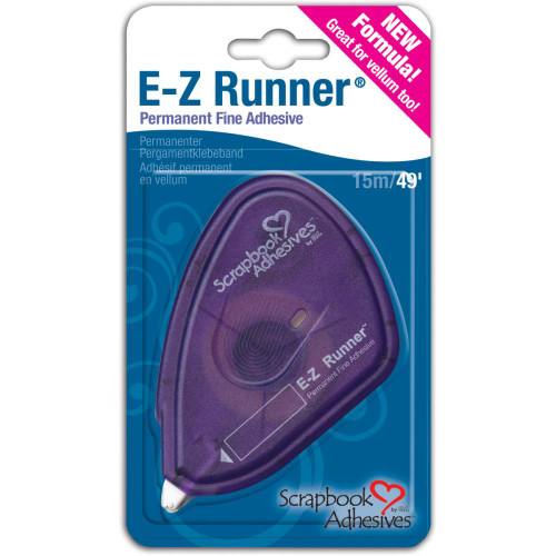 E-Z Runner Permanent Vellum Tape 49ft.