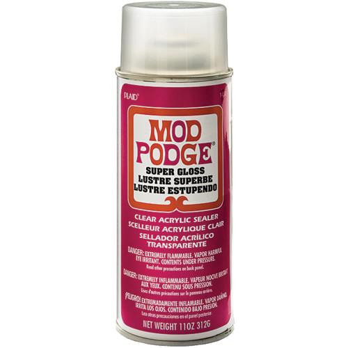 Mod Podge Super High Shine Spray Sealer 11oz.