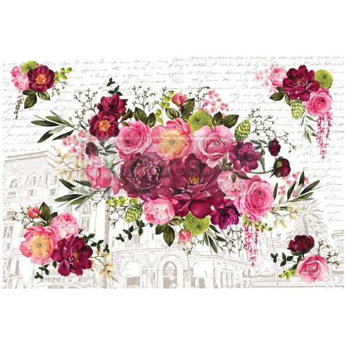 Prima Re-Design Decor Transfer - Royal Burgundy