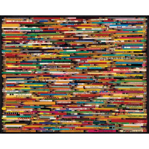 White Mountain 1000 Pc. Jigsaw Puzzle - Pencils