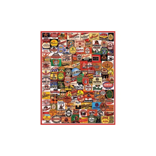 White Mountain 1000 Pc. Jigsaw Puzzle - Cheers