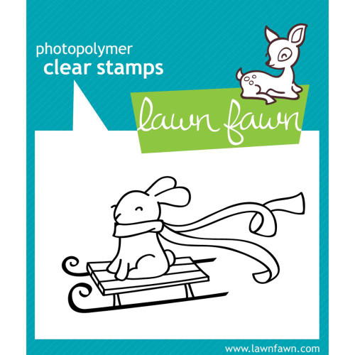 Lawn Fawn Clear Stamps - Winter Bunny