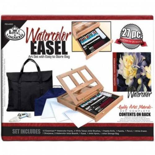 Royal & Langnickel Easel Art Set W/Storage Bag - Watercolor